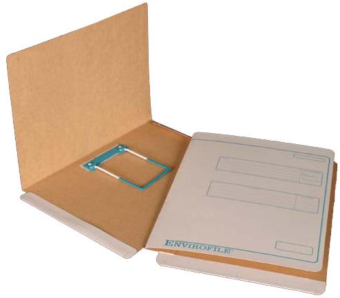 EnviroFile Standard Folder with 3 Piece Clip