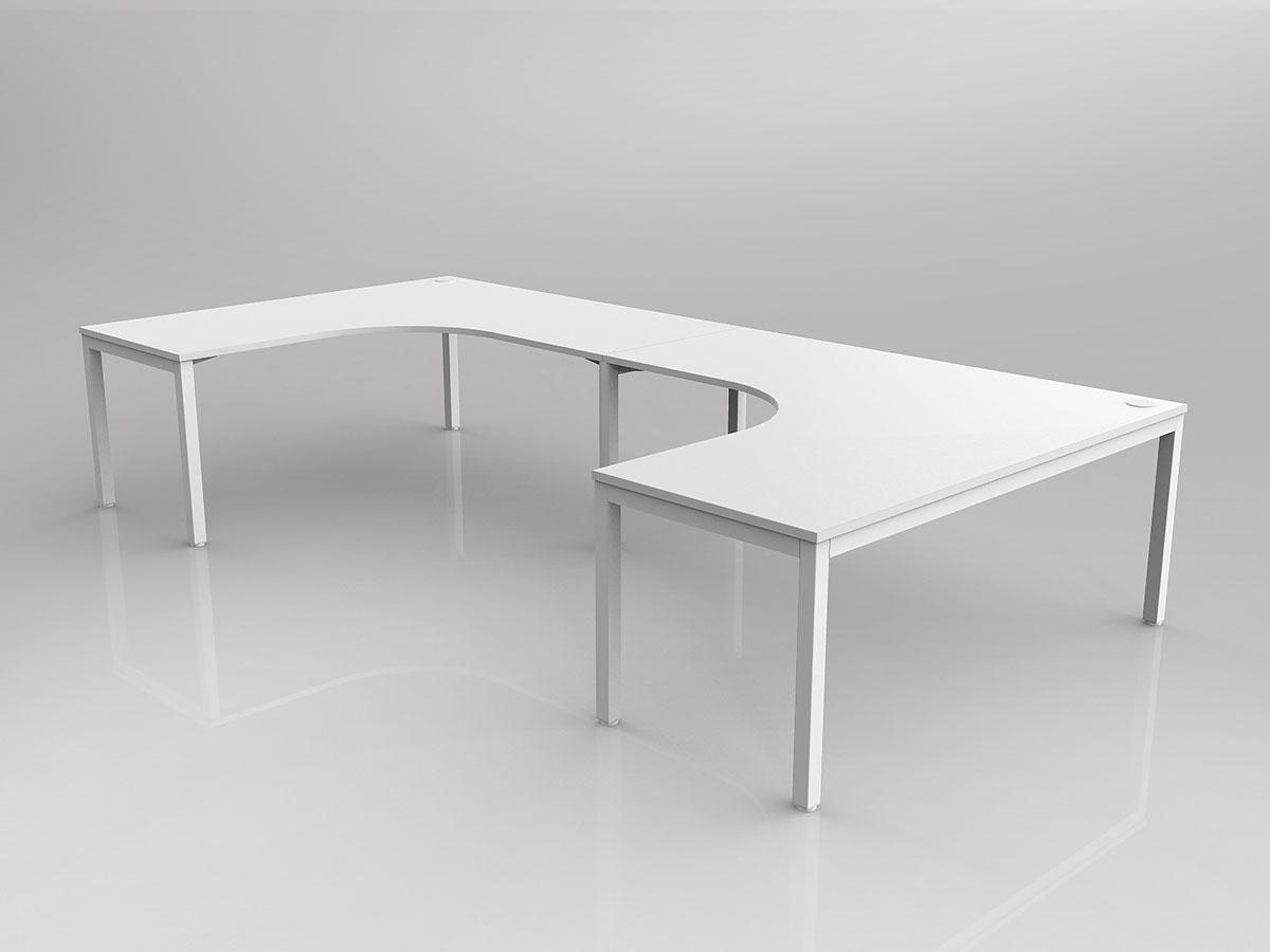 Avay Shared Desks 90° Workspace