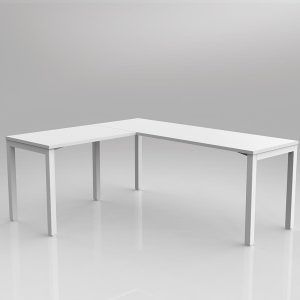 Avay Desk with Return