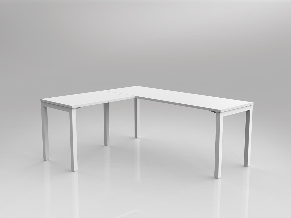Avay Desk with Return