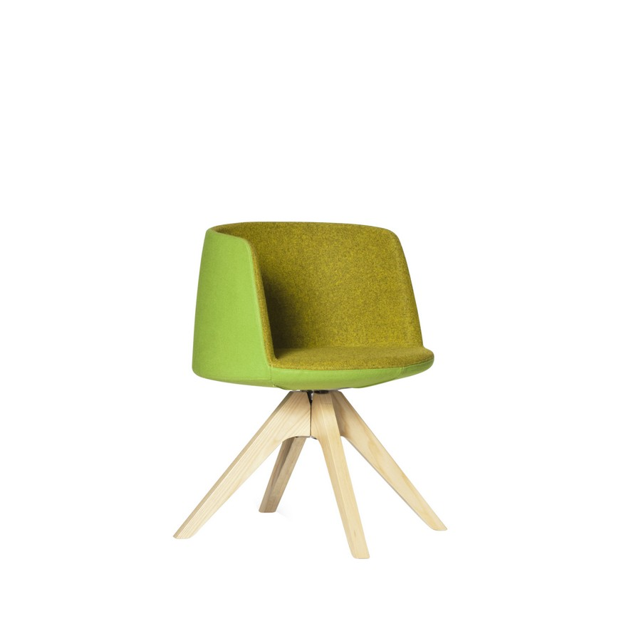 Balloon Chair- Timber Base
