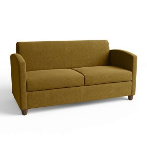 Bastian 2.5 Seater Lounge with timber legs
