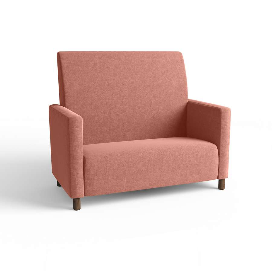 Bella High Back Lounge 2 Seater with arms