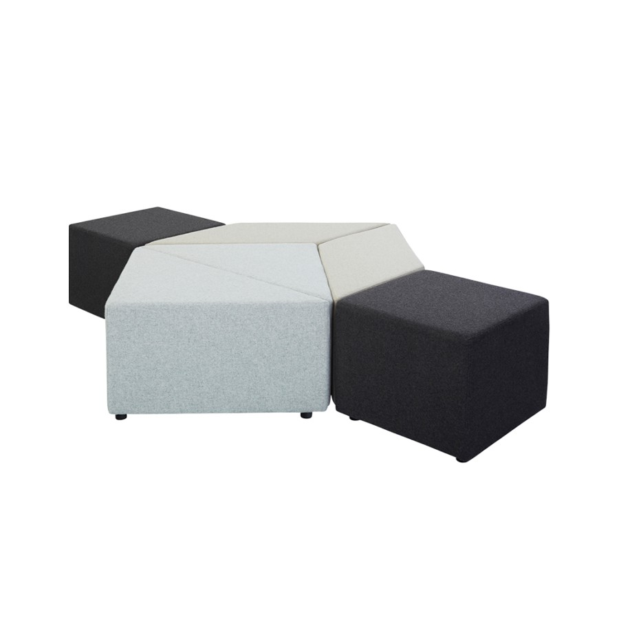 Eightby 4 Large Triangle Ottoman