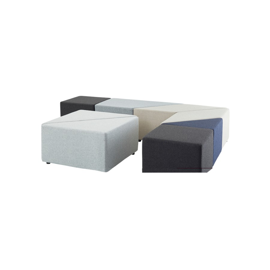 Eightby 4 Square Ottoman