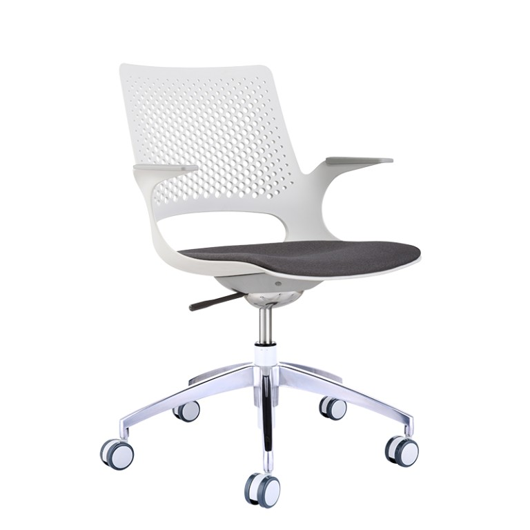 Harmony Swivel Chair with a Seat Pad