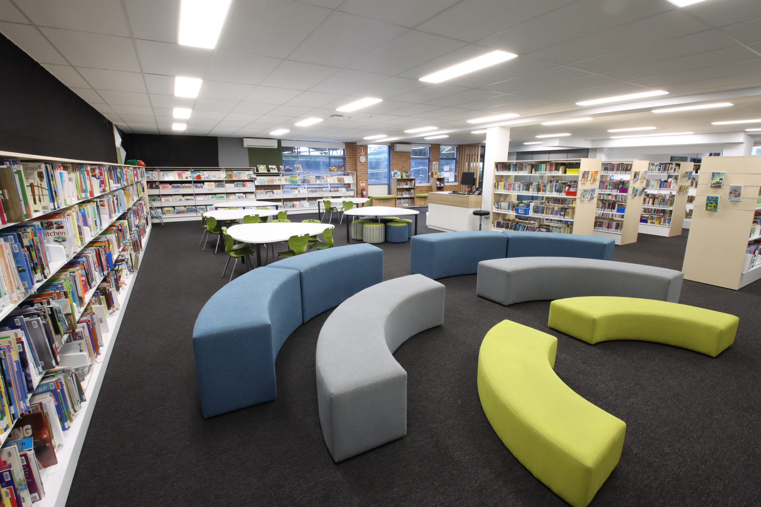 Primary Classroom in a Library