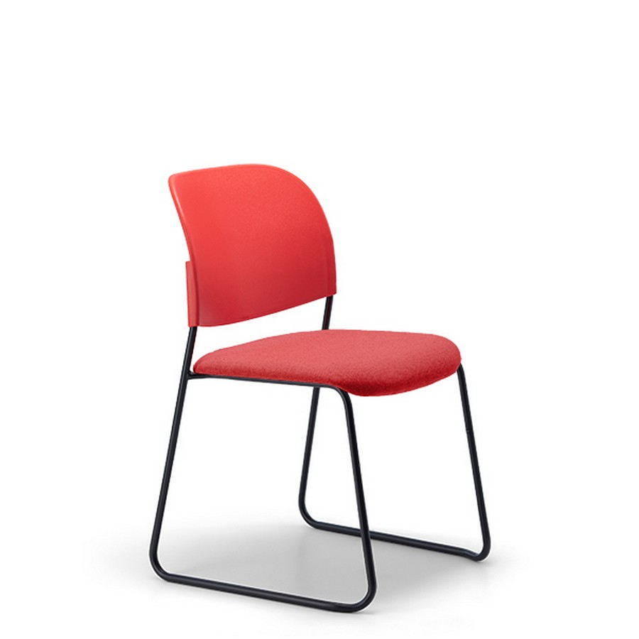 Lumia Chair with a seat pad