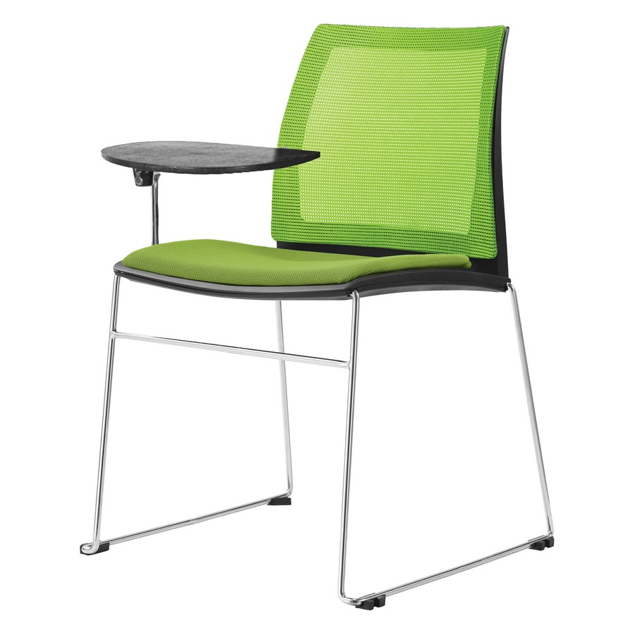Vinn Mesh Back Upholstered Chair